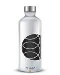 rendering borraccia mybottles con spirale in argento puro